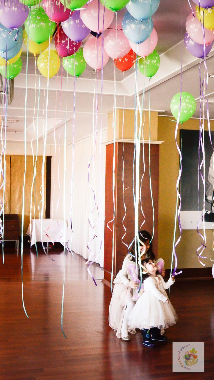 Kelebek temalı kutlama - Butterfly themed party