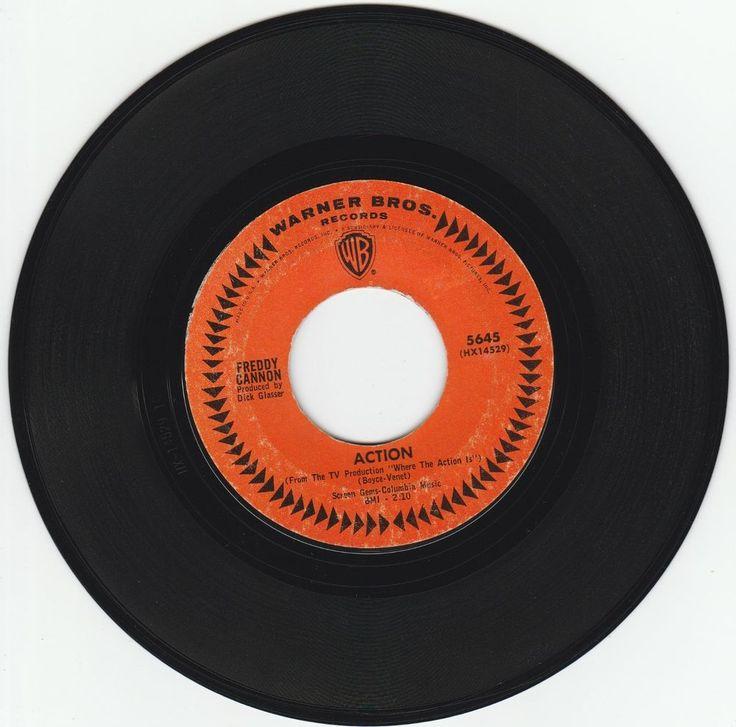1965     ACTION   -   FREDDY  CANNON #RocknRoll