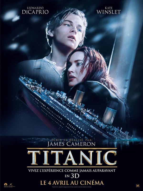 Titanic de James Cameron, 1997