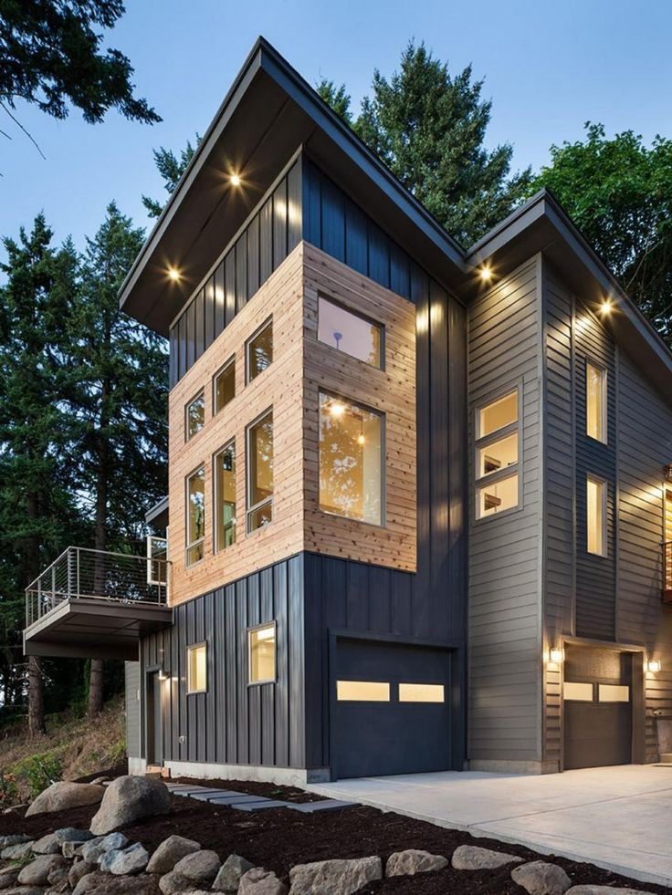 Small Modern House Designs Ultra Homes Exterior Front