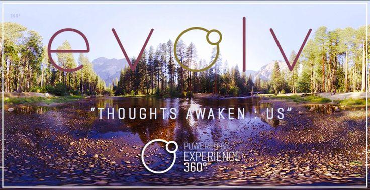 360° Album Experience - evolv 'Thoughts Awaken: US' | Binaural Virtual R...