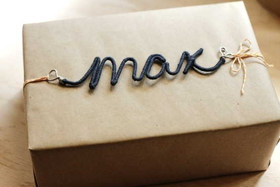personalized wire tag