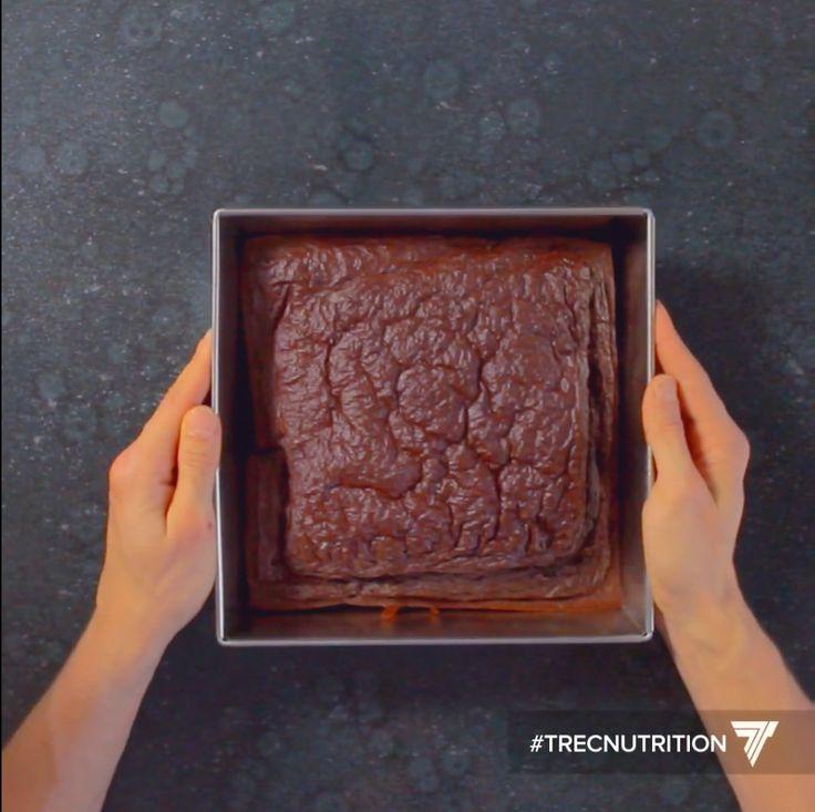Kierunek Fitness - Przepis na czekoladowo-miętowe brownie na bazie czerwonej fasoli z białkiem Isolate 100 Trec Nutrition