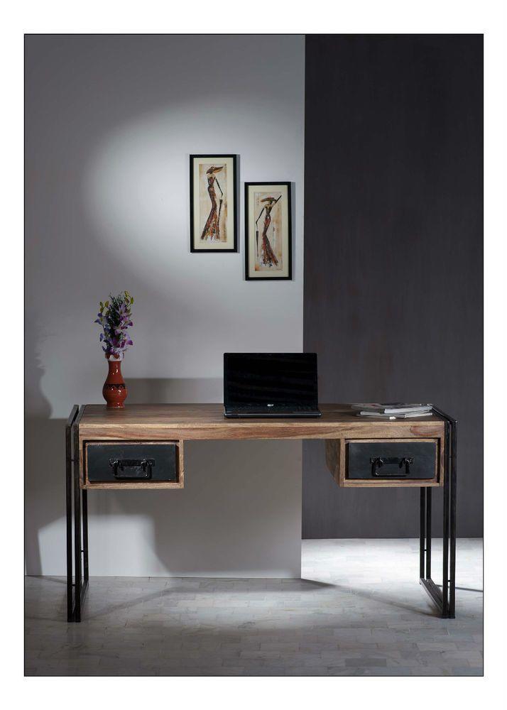 Vintage New Büromöbel Aktenschrank Schreibtisch Massivholz Regal Arbeitszimmer