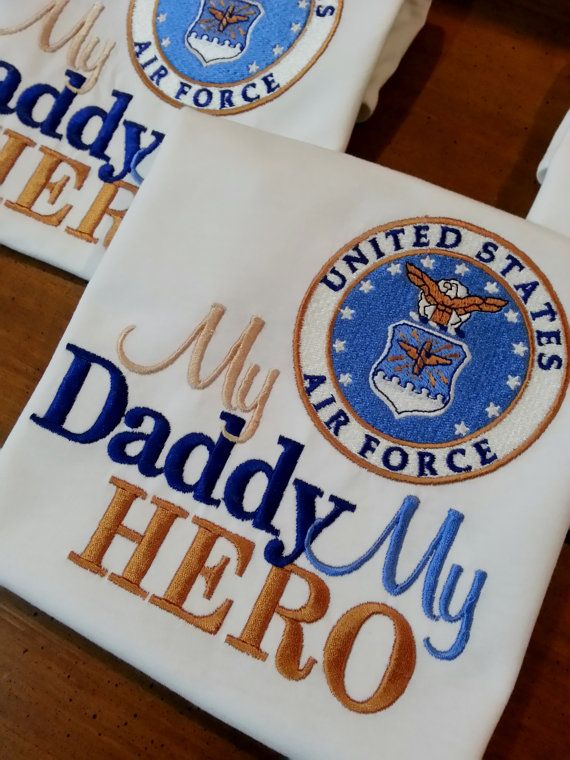 Any Branch My Hero is in the Air Force I call him Daddy Mommy Shirt Onesie Air Force Navy Coast Guard Marines National Reserves Any Military