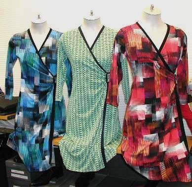 prints, wrap dresses