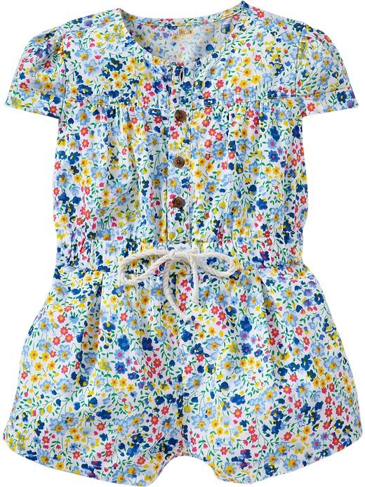 Old Navy | Button-Front Rompers for BabyBaby Girls Clothes, Buttons Front Rompers, Fans, Buttonfront Rompers, Baby Girls Clothing, Annie Mae, Old Navy, Claire Clothing, Baby Stuff