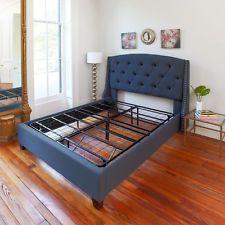 14 Inch Queen Size Platform Bed Frame Box Spring Replacement Mattress Foundation http://ift.tt/2nS4Py4