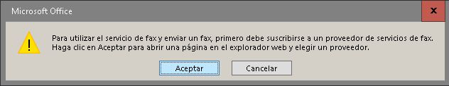 Aviso Fax
