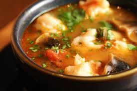 Spicy Shrimp Tomato Soup