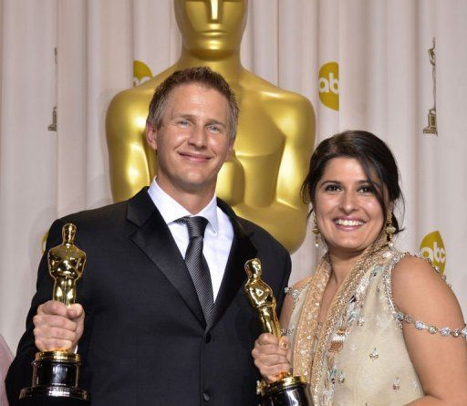 Sharmeen Obaid Chinoy...The first woman oscar winner of Pakistan...she has made the whole nation proud