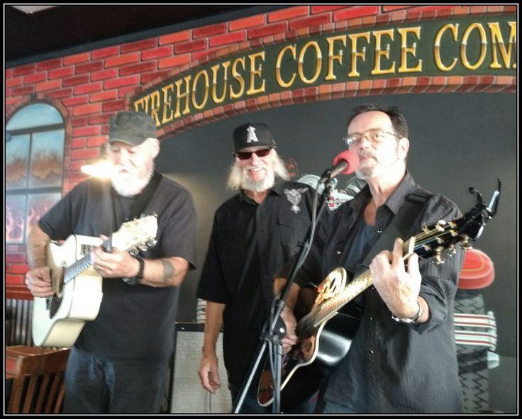 Matt, Ross and Billy at Firehouse in Bullhead City