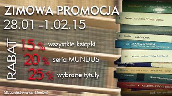 Do 2 lutego #rabaty od 15 do 25% na http://www.wuj.pl/