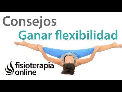 Ganar flexibilidad en las piernas. 10 consejos fundamentales. - YouTube