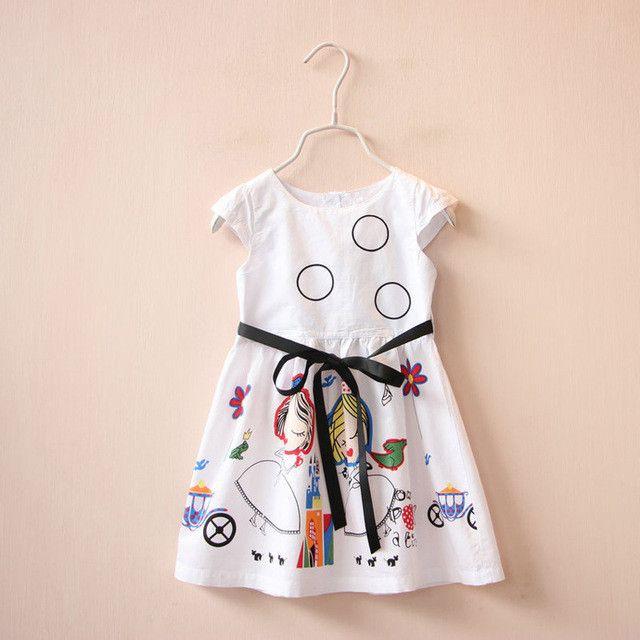 Girls Summer Dress Kids