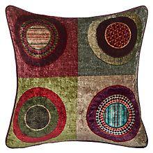 Buy Mulberry Home Dress Circle Velvet Cushion Online at johnlewis.com