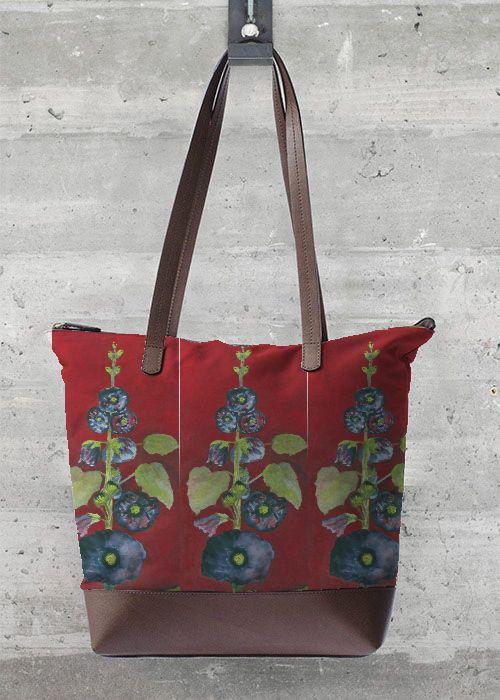 VIDA Statement Bag - poppies-21 by VIDA 0ZDogot