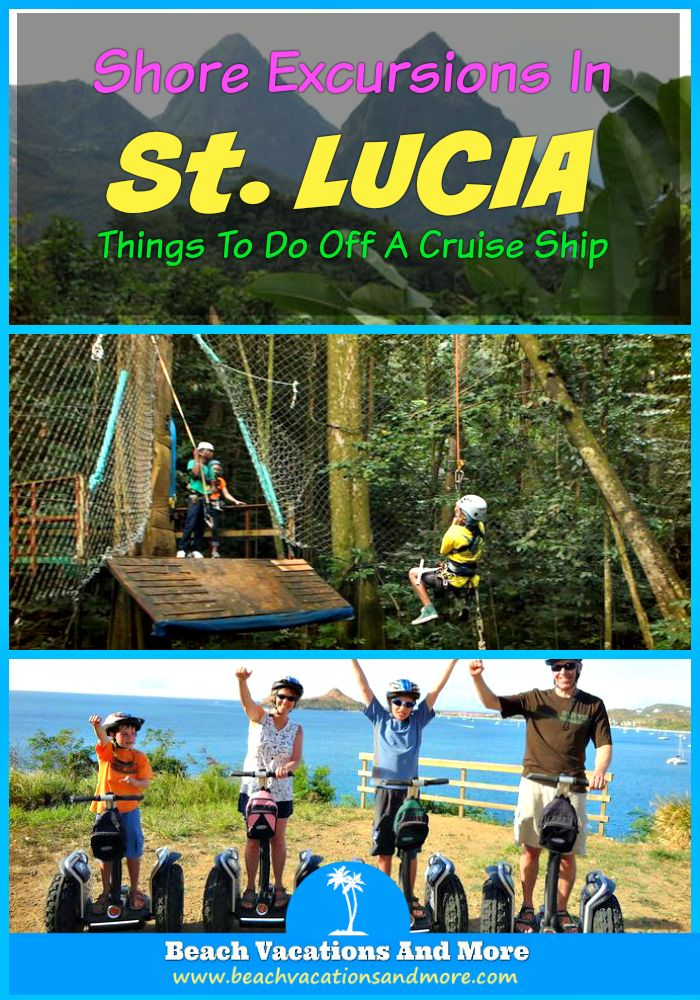 St. Lucia Shore Excursions - Segway Nature Trail, Boat Tour and Reduit Beach, Castries City Walking Tour, Creole Lunch, Soufriere, Reduit Beach  and more adventures