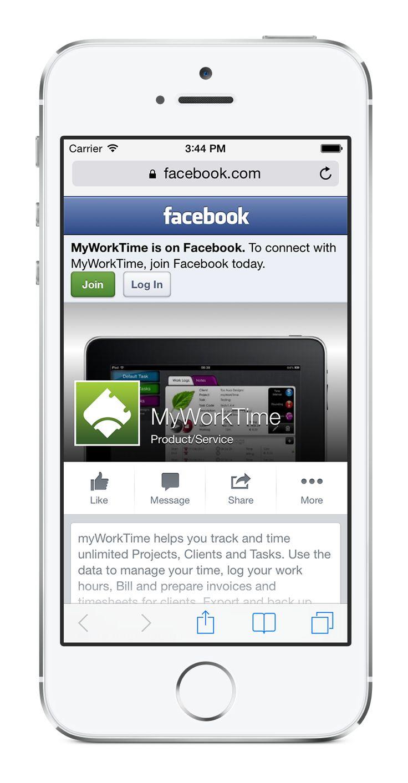 myWorkTime task tracking timesheet app Task, App, Ios app