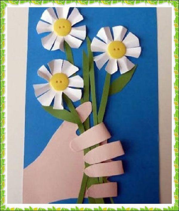 Una original tarjeta para el Día de la Madre