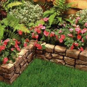 Landscaping wall.  Must create!