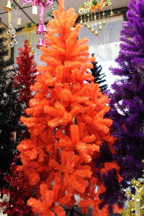 orange christmas tree by christmas168 - Orange Christmas Tree