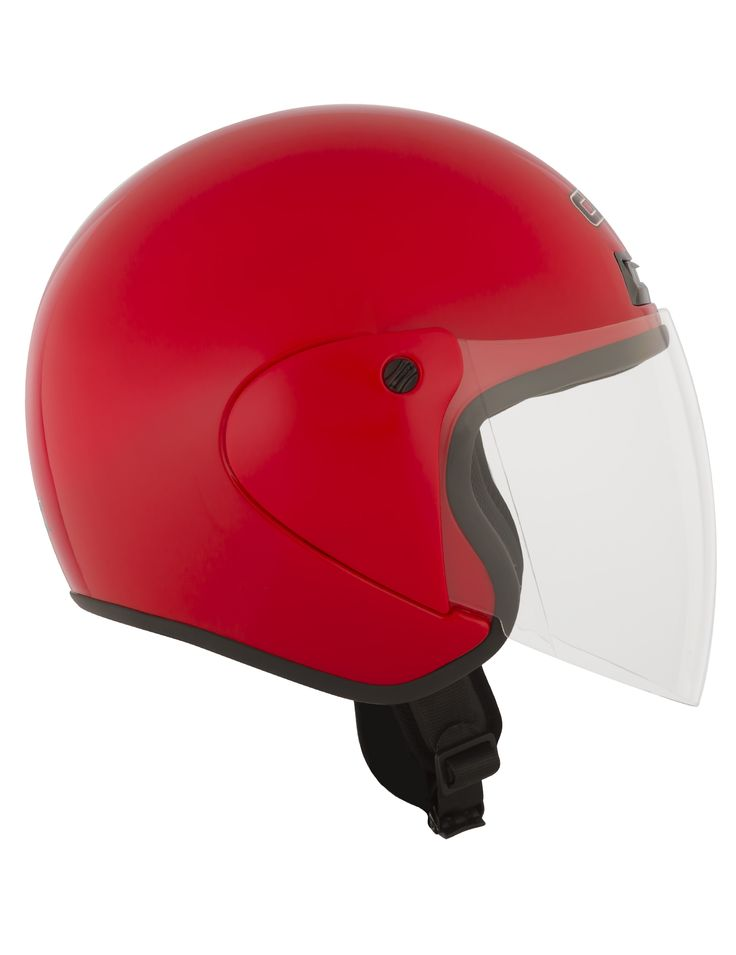 CKX 2015 - Motorcycle open face helmets - VG975 SOLID Red - ckxgear.com