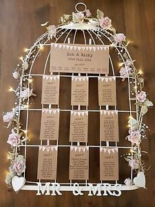Birdcage-Table-Plan-HIRE-with-tags-to-keep-35-SOUTHPORT-Merseyside-Lancashire