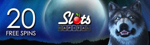 Slots Capital Online Casino 20 FREE Spins on Mystic Wolf