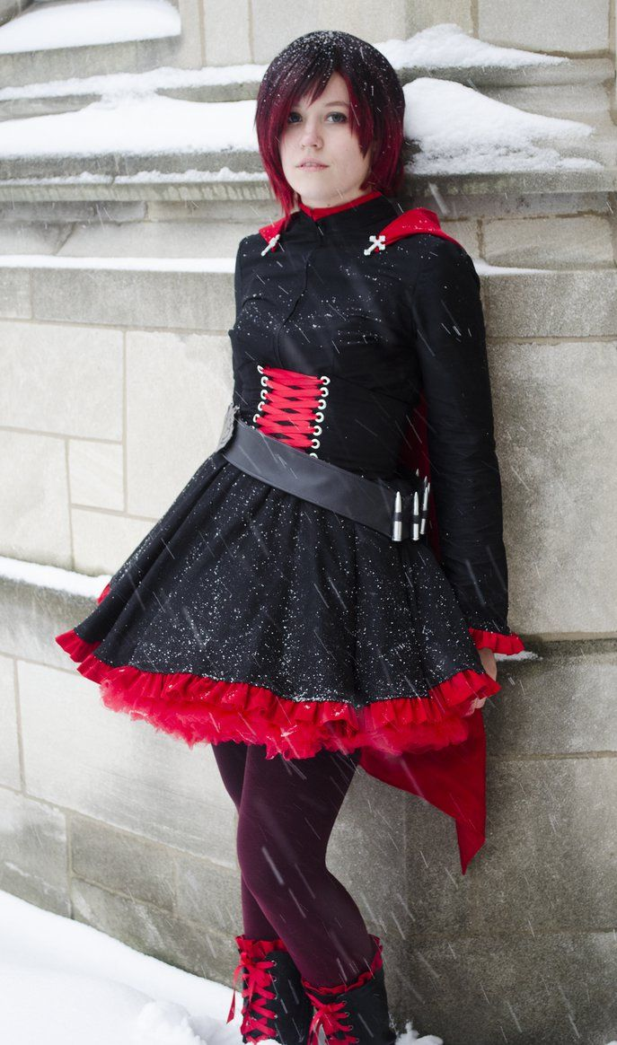 Ruby Rose cosplay sewn and worn by myself.