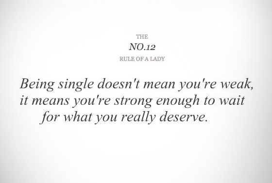 Rules of a lady.. This is so true.