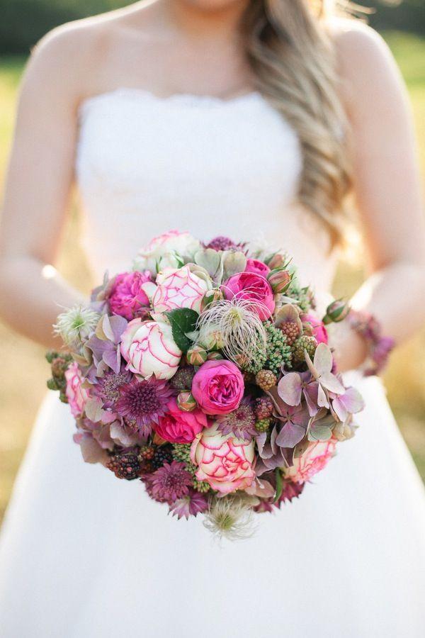 Brautstrauß Hannover, Herbstliche Blütenpracht von Christin Lange Fotografie www.blumig-heirat…