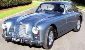 Aston Martin Db2 4 Mki Coupe 1953 54 Classic Aston Martin Cars