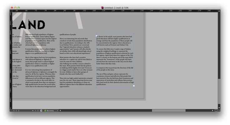 InDesign - Textbox