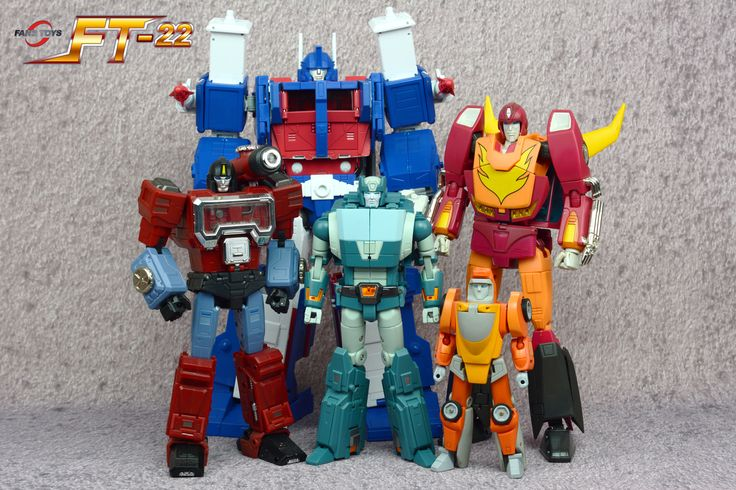 Colored Test Shot Images of FansToys FT-22 Koot - Masterpiece-Styled Kup - Transformers News - TFW2005