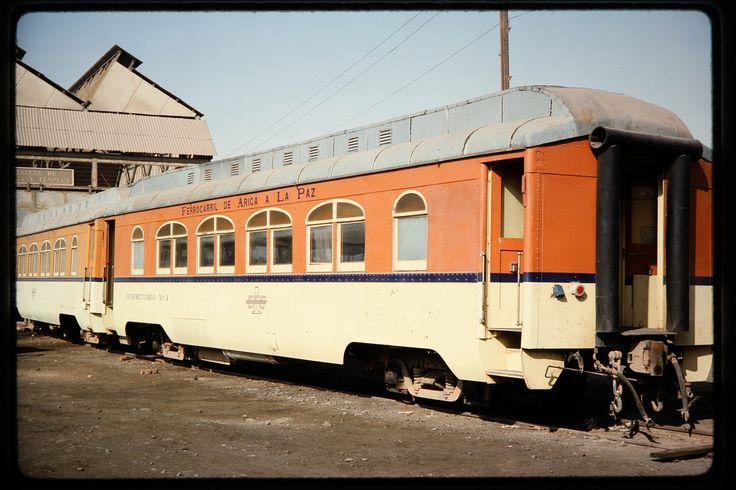 Coche dormitorio del Ferrocarril Arica (Chile) - La Paz (Bolivia)