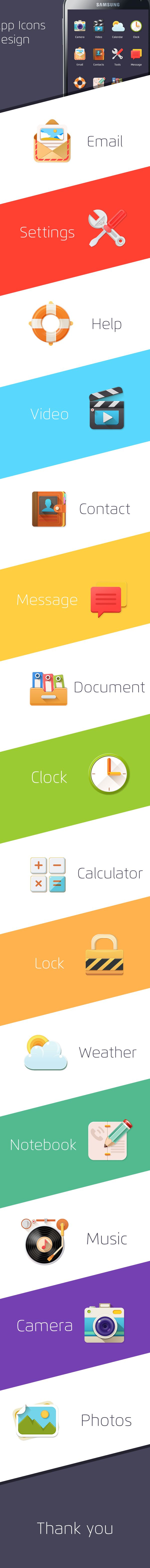 App Icons Design on Behance