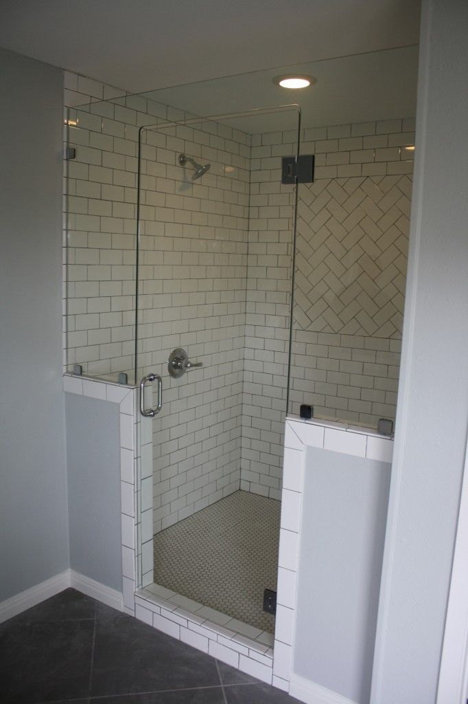 HGTV s Fixer Upper Frameless Shower Enclosure by Anderson Glass