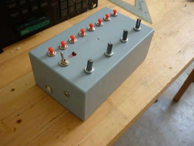 Arduino music sequencer