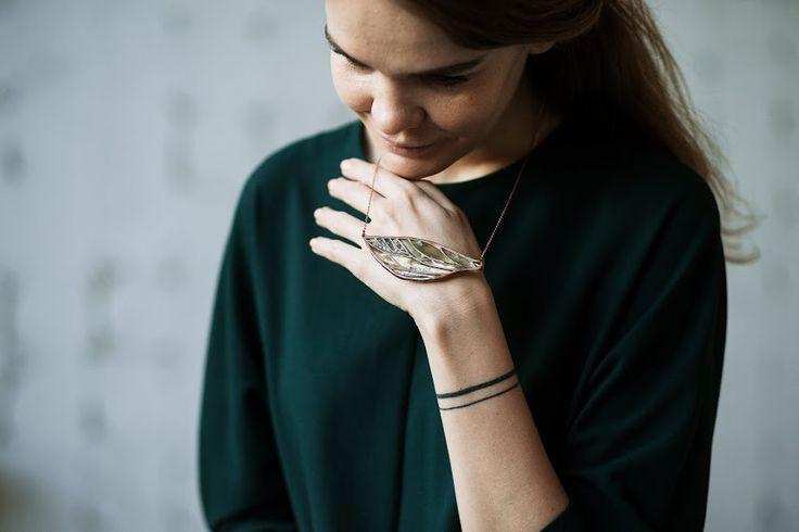 Amber Necklace (Ok's Box for Russian Amber)  Колье с янтарем.  Автор: Оксана Веселкова для russian-amber.ru