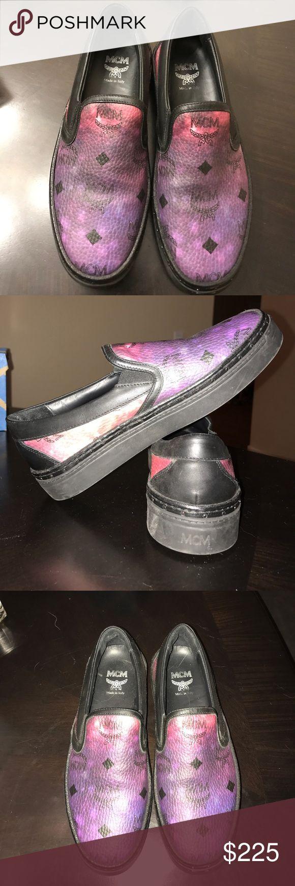 MCM Sneakers MCM galaxy slip on sneakers MCM Shoes Sneakers