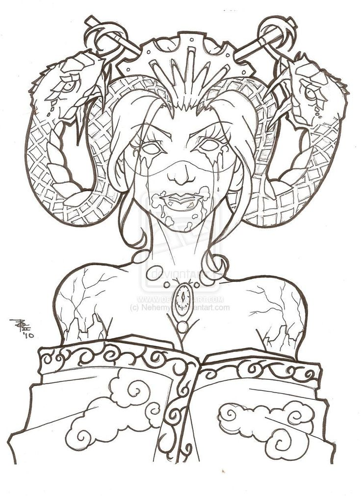 114 best Demons images on Pinterest   Dämonen, Malbücher und Malvorlagen