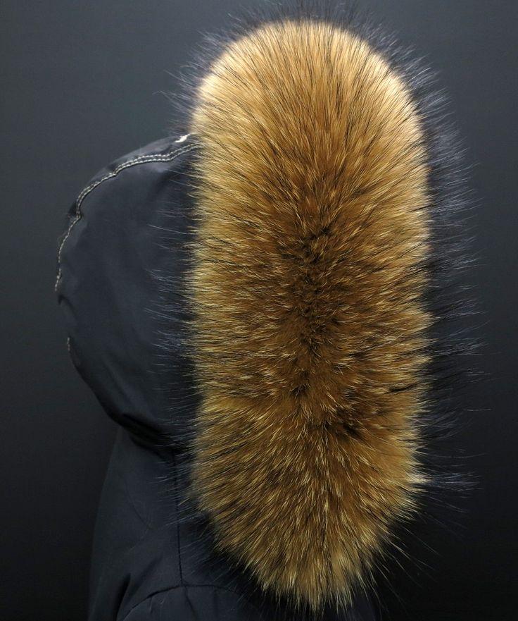 Takhle může vypadat Vaše bunda s naším kožešinovým lemem na kapuci - luxusní finský mývalovec v přírodní barvě #real_fur #prava_kozesina #kozesina_na_kapuci #finnraccoon