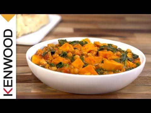 Recette de Curry de Patates douces avec le robot cuiseur kCook Multi de Kenwood. - YouTube