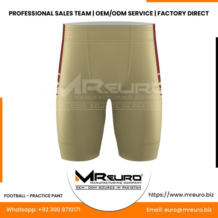 Football practice pant mr euro manufacturing company