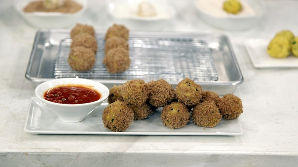 "Fried Rice Balls ""Arancini"" Healthy Version"