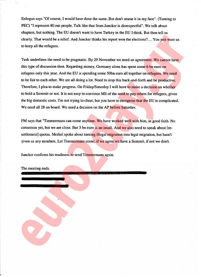 Posted on 26 February, 2016by Undercover1 A document – see four images below – provides evidence that Turkey threatened to bus into the European Union thousands more refugees from war zones unless … http://winstonclose.me/2016/02/28/evidence-erdogan-threatened-to-bus-1000s-of-refugees-into-europe-unless-accessionfunds-demands-met-written-by-undercover1/