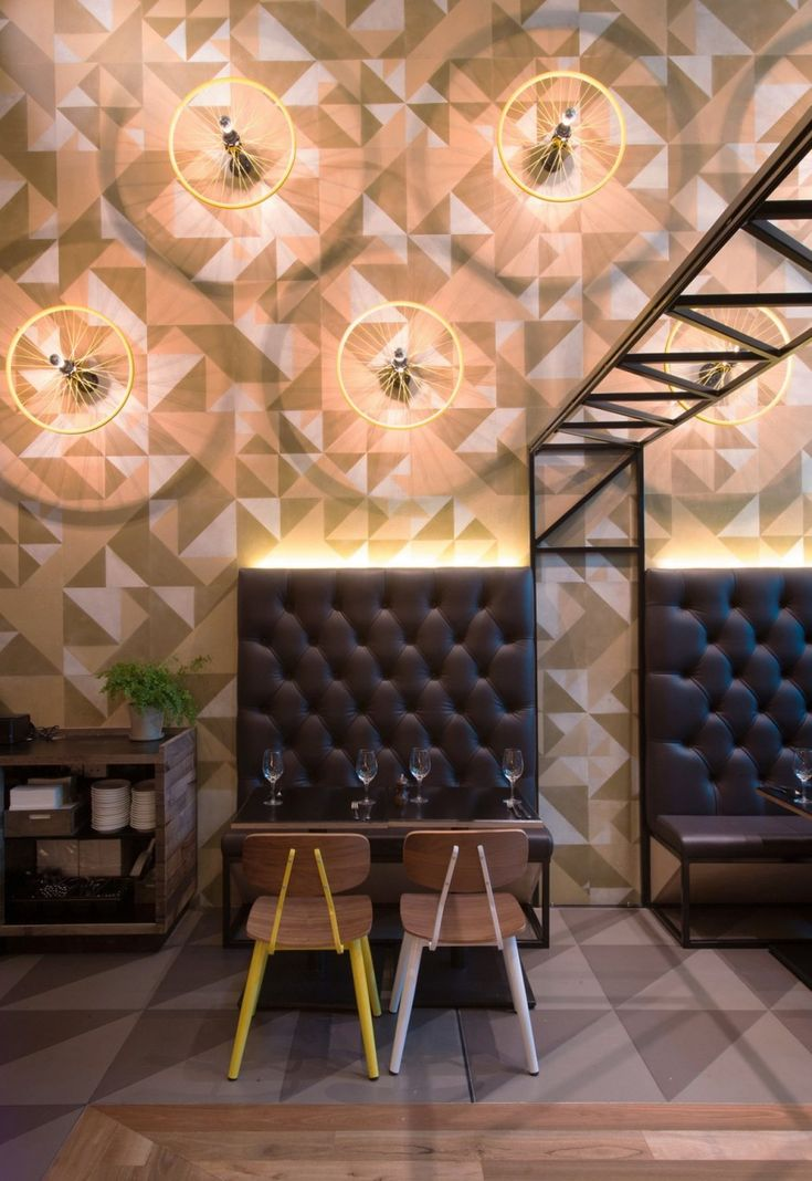 Bluetrain Restaurant by Studio Equator #seating