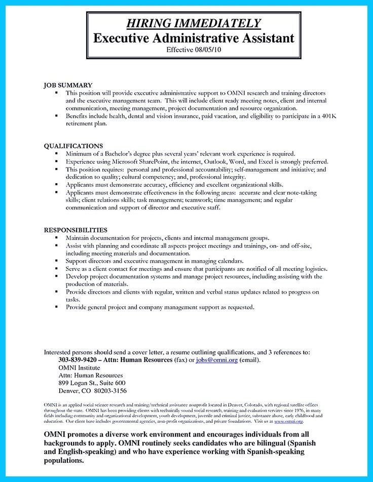 High Quality Entry Level Administrative Assistant Resume Samples - health administrative assistant resume