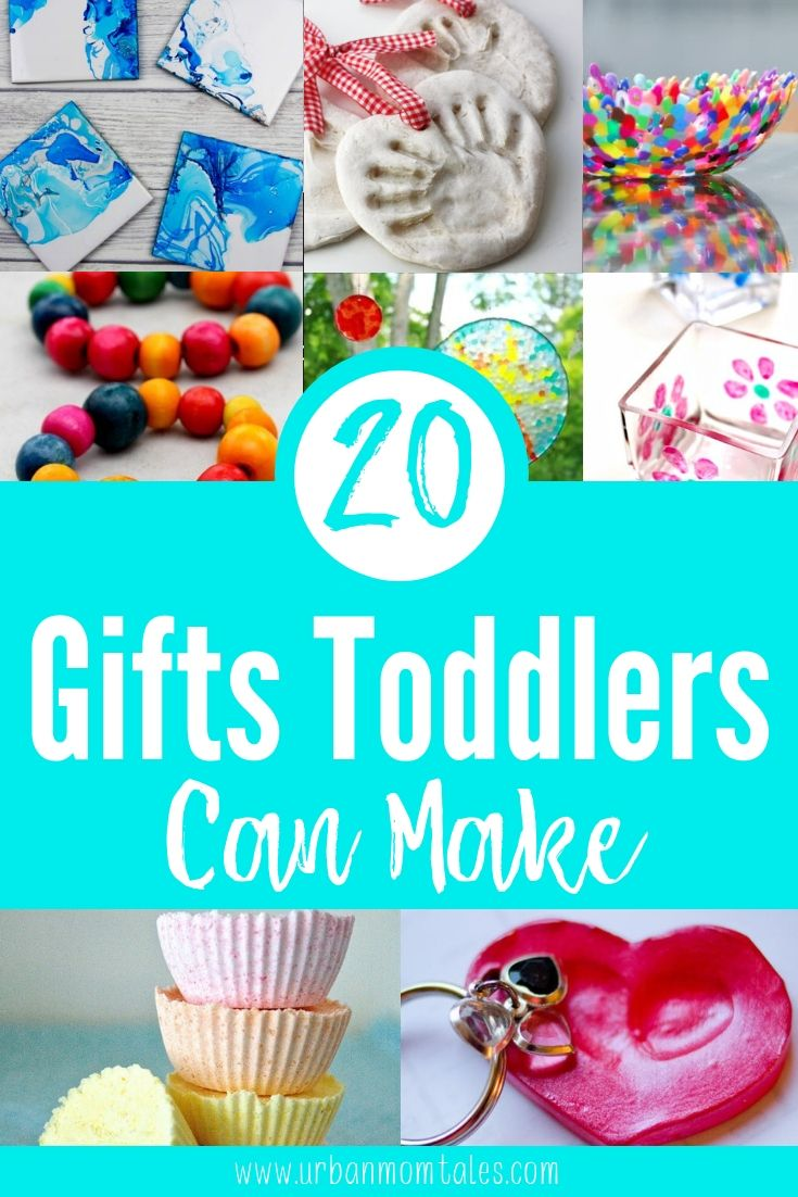 20 Simple Gifts Toddlers Can Make At Christmas Homemade Kids Gifts Toddler Christmas Gifts Toddler Holiday Gifts